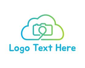 Camera - Camera Cloud logo design