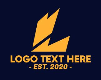 Electrical - Electric Letter L logo design