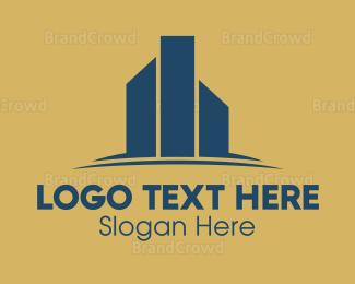 Business Center - Colorful Real Estate logo design