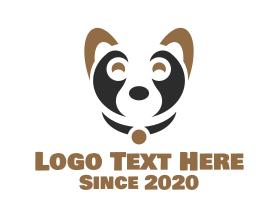 Minimalist Puppy Logo