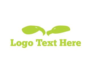 Osprey - Green Eagles logo design