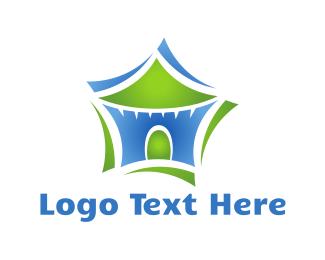 Holiday - Star Tent logo design