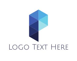 Crystal - Crystal Letter P logo design