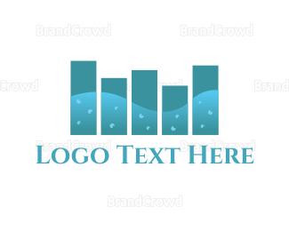 Stereo - Ocean Sound logo design