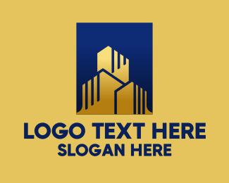 High Rise - High Rise Buildings logo design