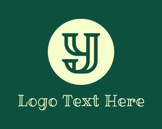 Lesson - Blackboard Handwritten Letter Y logo design