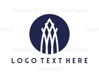 Barcelona - White Tower logo design