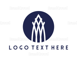 Gate - White Tower logo design