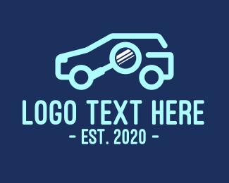 Search - Automotive Car Search logo design