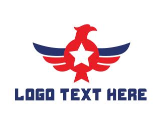 American Eagle - American Eagle Wing logo design