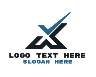 Approval - Tech Check X logo design