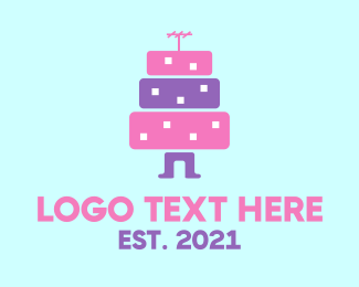 Cake - City Cake logo design