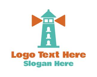 Lighthouse - Play Lighthouse logo design