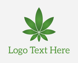 Cannabis - Star Marijuana logo design