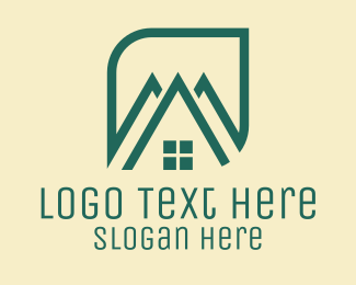 Roof - House Roofing Company  logo design
