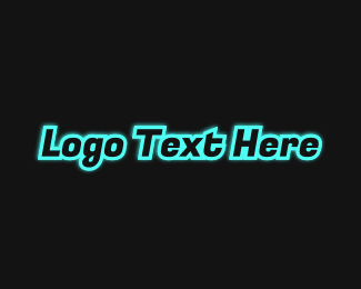 Airline - Blue Stroke Wordmark logo design