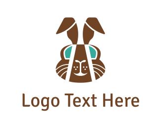Cocoa - Chocolate Rabbit  logo design