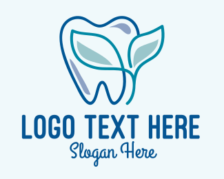 Root Canal - Herbal Dentist Clinic  logo design