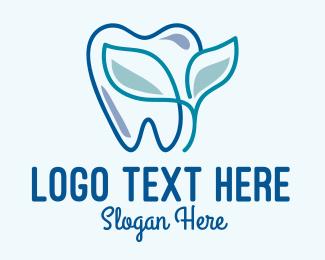 Oral Health - Herbal Dentist Clinic  logo design
