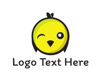 Wink - Chick Wink logo design