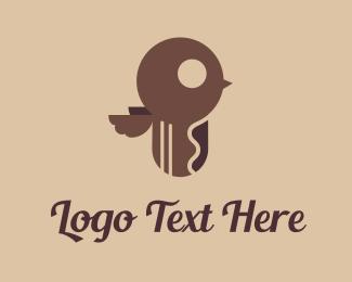 Key - Bird Key logo design