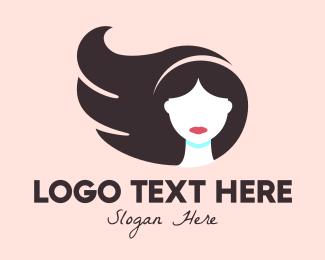 Hair Product - Beauty Hair Stylist logo design