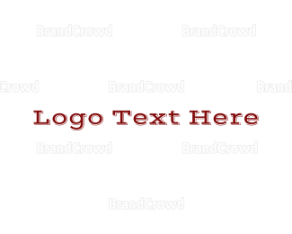 Cowboy - Wild West Wordmark logo design