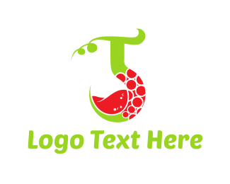 Red Wine - Vine Drink logo design