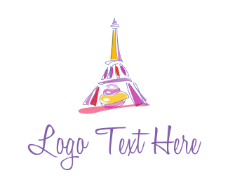 French - French Paris Pastry logo design
