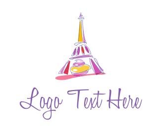Baking - French Paris Pastry logo design