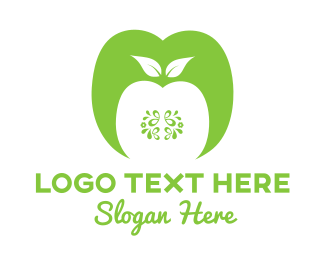 Kiwi - Green Apple logo design
