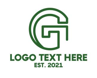 Masculine - Industrial Tech G logo design