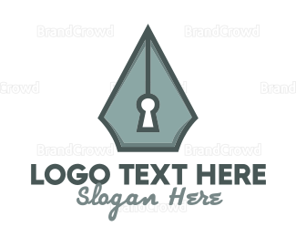 Write - Writing Security logo design