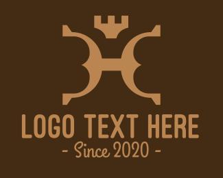 Leadership - Brown Royal Leather logo design
