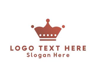 Leadership - Feminine Crown logo design