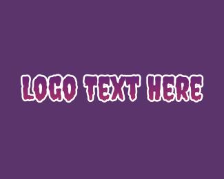 """Purple Horror Font"" by BrandCrowd"