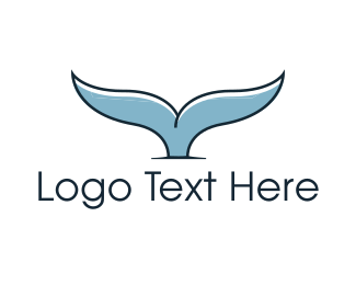 Solutions - Whale Tail logo design