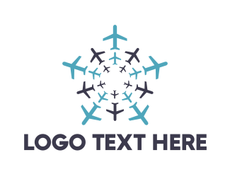 Flight - Air Team logo design