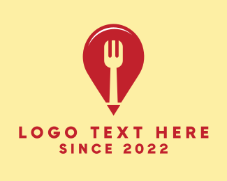 Finder - Food Restaurant Location Finder logo design
