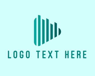 Audio - Audio Play Button logo design