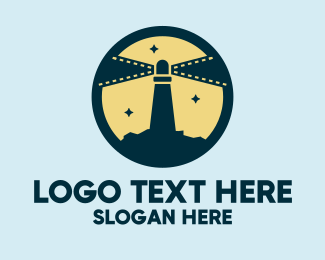 Films - Lighthouse Films logo design