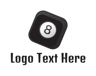 Number 8 - Square Number 8 logo design
