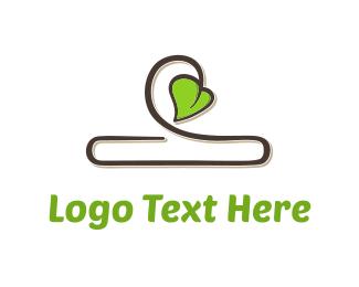 Vine - Organic Clothing logo design