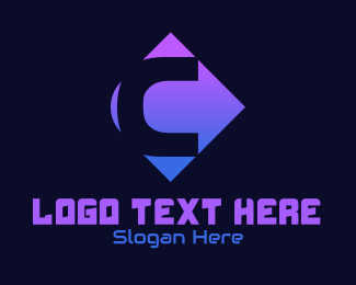 Web Hosting - Cyber Tech Letter C logo design
