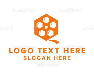 Beehive - Hive Reel logo design