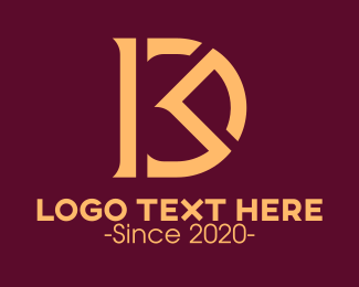 Ma - Luxurious Monogram R & D logo design