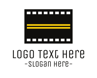 Highway - Road Film  logo design