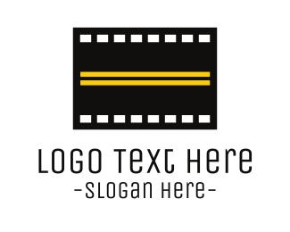 Street - Road Film  logo design