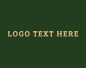 Bloggers - Gradient Serif Classic Wordmark logo design
