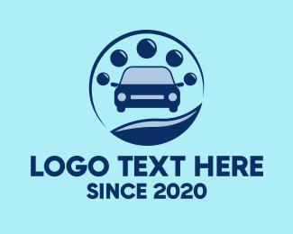 Car Service - Simple Car Wash Service logo design